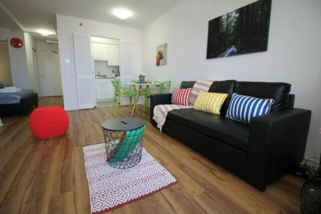 Furnished Downtown Studio Apartment - Internet included
