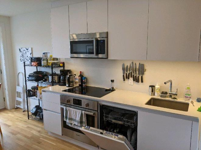recently renovated apartment in Monkland village