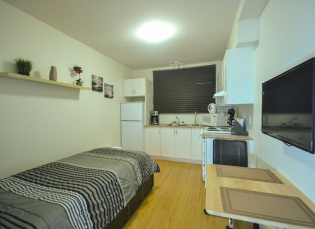 Completely NEW & FURNISHED Studio