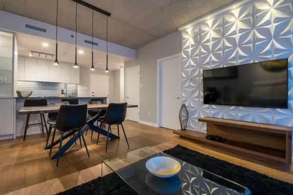 Lovely 1 Bed, 1 Bath with Gorgeous Interior Design and Private Balcony