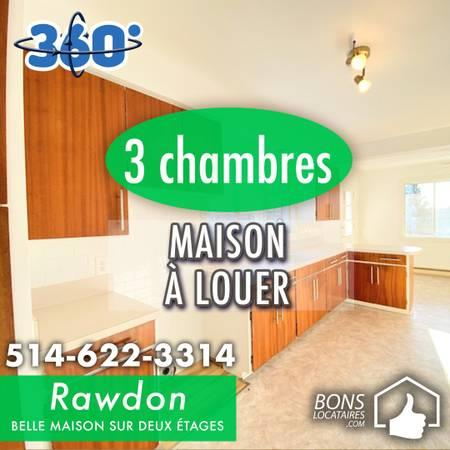 House for rent Rawdon 3 bedrooms (Beautiful house!)