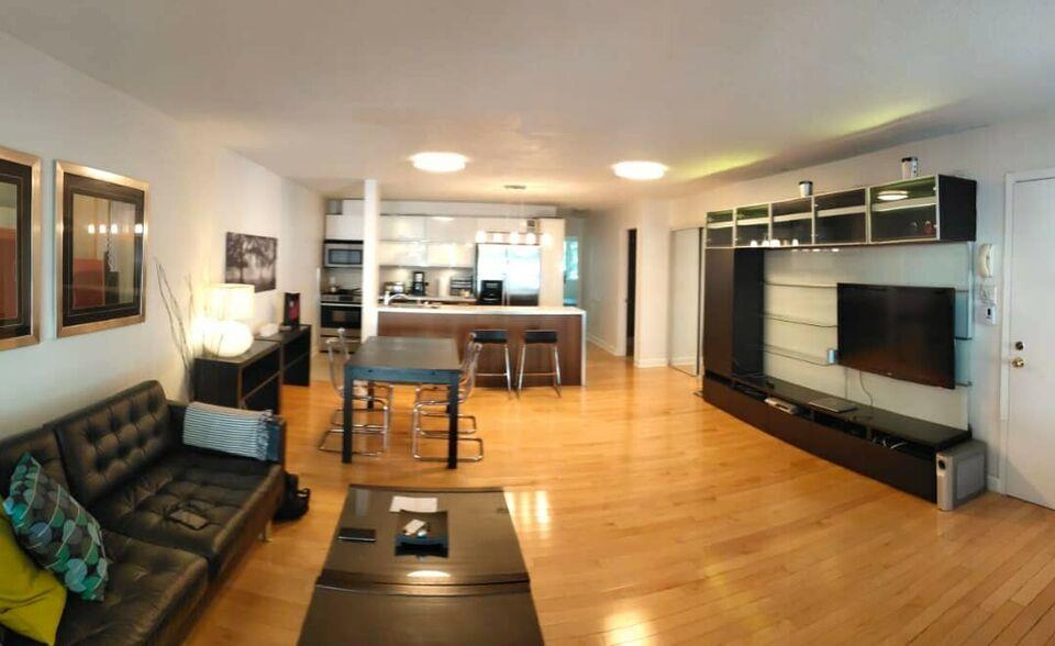 2 BEDROOM, FULLY FURNISHED, DOWNTOWN, ATWATER, ALL INCLUSIVE