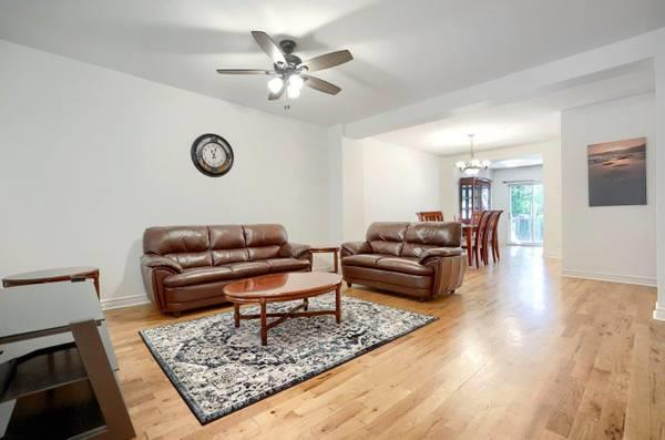 Semi Furnished House for Rent Downtown- Pointe St-Charles(Row housing)